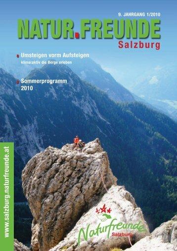 Schutz- haus Neubau (2175 m) - Naturfreunde SALZBURG