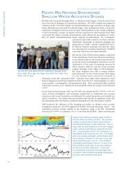 pacific rim nations synchronize shallow water acoustics ... - APL-UW