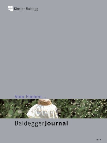 BaldeggerJournal - Kloster Baldegg