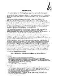 Stellenanzeige - Evangelisch-lutherischer Stadtkirchenverband ...