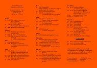 Jahresprogramm 2011