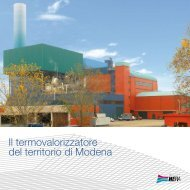 Leaflet termovalorizzatore di Modena - Il Gruppo Hera