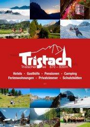 Gasthöfe - Pensionen - Camping Ferienwohnungen ... - Tristach.info
