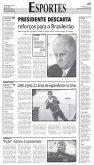 PT CONTRARIA GOVERNO E APOIA AUMENTO DE ... - Bem Paraná - Page 6