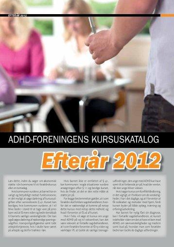 Kursus 20 – 12 - ADHD: Foreningen