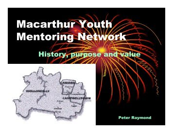 Macarthur Youth Mentoring Network - Australian Youth Mentoring ...