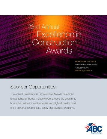 Sponsorship Brochure 2013 EIC 9.18.12.pdf - Associated Builders ...