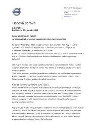 PDF dokument na stiahnutie - Volvo