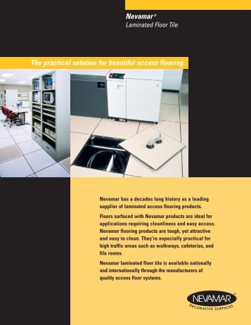 Nevamar® Laminate Floor Tiles - Panolam