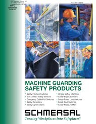 SAFETY PRODUCTS - IPEC Industrial Controls Ltd.