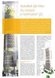 Autodesk 3ds Max : du croquis à l'animation 3D - Zift Solutions