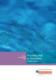 Guidelines for Providing Aids to Navigation in New Zealand - 2004