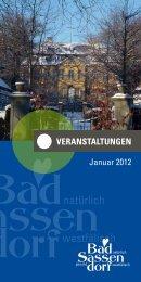 Veranstaltungen Januar 2012 - Bad Sassendorf