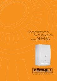 Caldaia Ferroli Arena 30 - Certened