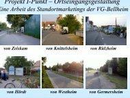 Projekt I-Punkt – Ortseingangsgestaltung