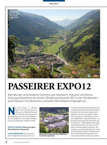 Panorama - Passeier Expo 2012