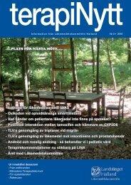 terapiNytt nr 3/2010 - Region Halland
