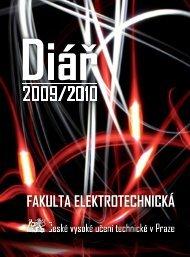 Diář FEL ČVUT 2009/2010 - Fakulta elektrotechnická