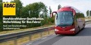 Berufskraftfahrer-Qualifikation. Weiterbildung für Bus-Fahrer