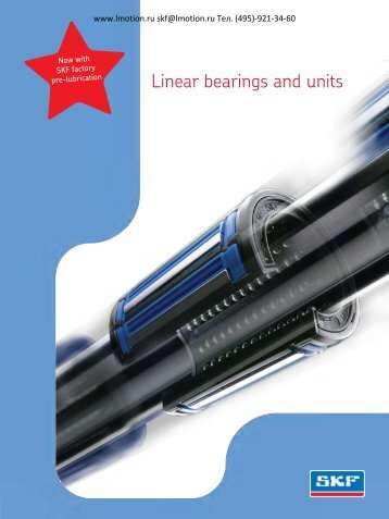 Linear bearings and units