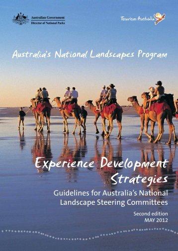 Experience Development Strategies - Tourism Australia
