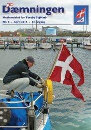 Nr. 2 - April 2013 - 33. årgang Medlemsblad for Toreby Sejlklub