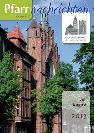 Juli und August 2013 - Maria unter dem Kreuz