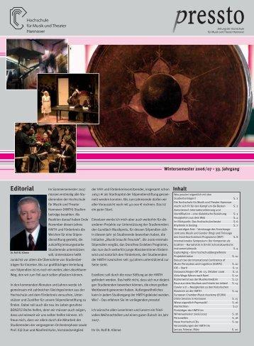 pressto 2/ 2006 - Incontri