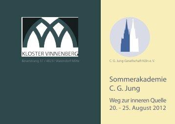 C.G. Jung Sommerakademie im Kloster Vinnenberg
