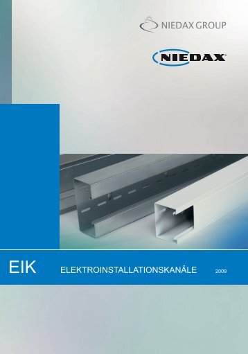 elektroinstallationskanäle 2009 ener eik - Electraplan Romania