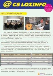 CSLOXINFO Newsletter vol.16