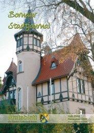Amtsblatt der Großen Kreisstadt Borna 22/09 - Druckhaus Borna