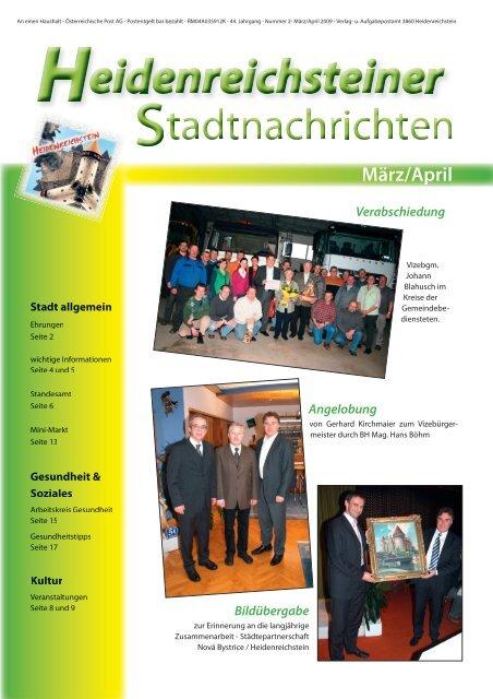 Singletreff ab 50 heidenreichstein - Ternberg frau sucht