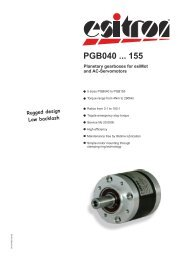PGB040 ... 155 - esitron-electronic GmbH