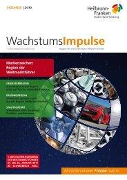 Wachstumsimpulse 02/11 - Wirtschaftsregion Heilbronn - Franken