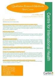 Course Brochure May 09.pub
