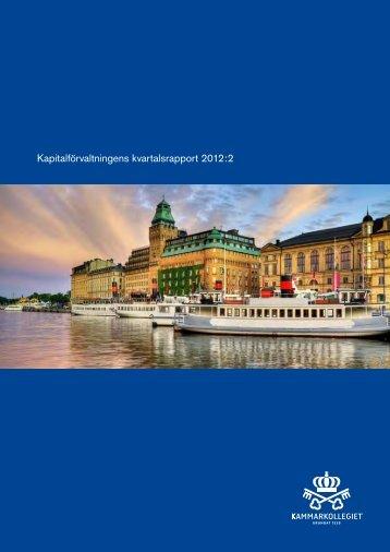 Kammarkollegiet Kapitalförvaltning kvartalsrapport Q2 2012