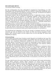 DIE SCHWARZE SPINNE. von Jeremias Gotthelf (Auszug) Der hier ...