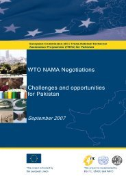 WTO NAMA Negotiations Challenges and opportunities for ... - TRTA i