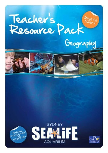 Teacher's Resource Pack - Sydney Aquarium