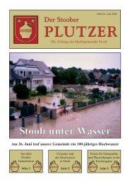 Ausgabe 2008/02 - Stoob unter Wasser