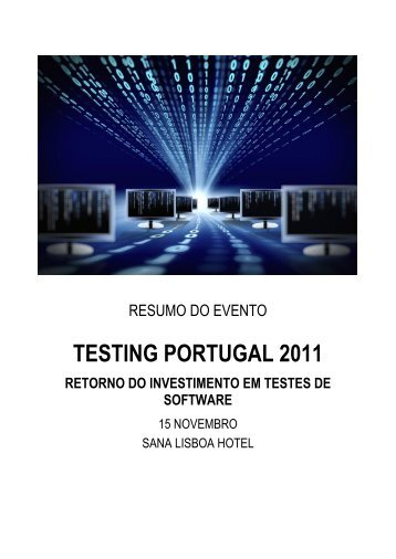 TESTING PORTUGAL 2011 - IDC Portugal