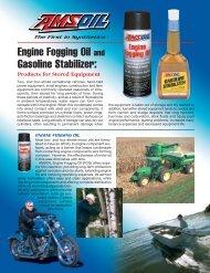 Engine Fogging Oil and Gasoline Stabilizer: - Synpsg