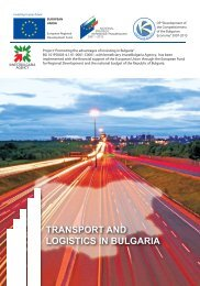 TRANSPORT AND LOGISTICS IN BULGARIA - Invest Bulgaria Agency