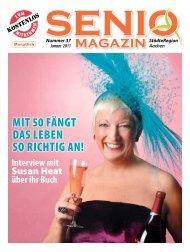 MIT 50 FäNGT DAS LEBEN SO RICHTIG AN! - Senio Magazin