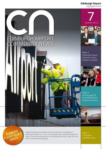 SUMMER FLIGHT GUIDE INSIDE - Edinburgh Airport