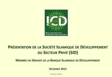 Corporate Profile - IDB Group Business Forum