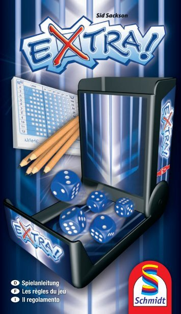 Spielanleitung Les règles du jeu Il regolamento - Schmidt Spiele