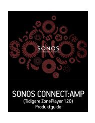 SONOS CONNECT:AMP - Almando