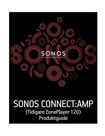 SONOS CONNECT:AMP - Almando